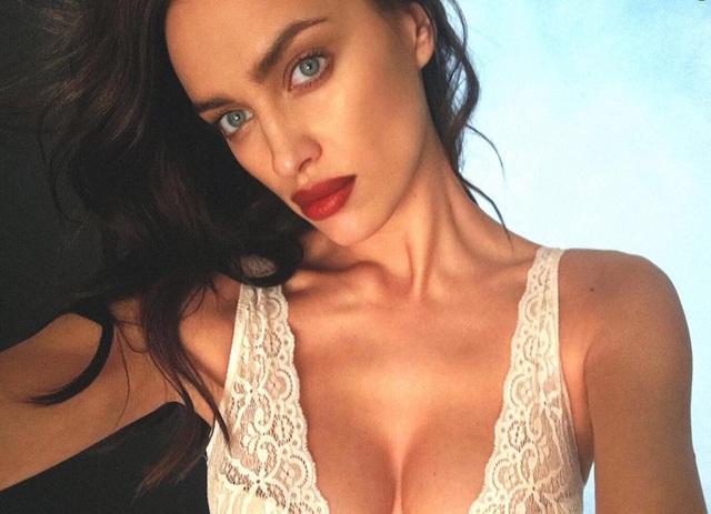 Irina Shayk cũng đã bắt đầu quay trở lại với công việc người mẫu