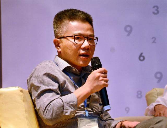 GS Ngô Bảo Châu (ảnh: Thu Hà)