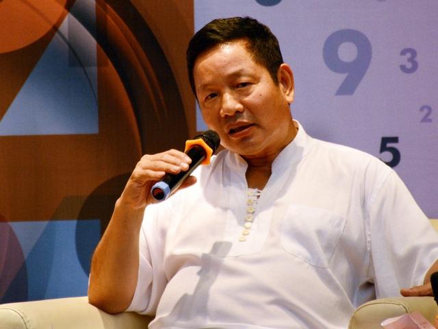 Ông Trương Gia Bình Chủ tịch Tập đoàn FPT (Ảnh: Thu Hà)