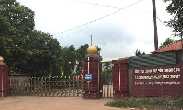 Trụ sở Công ty G.O.C tại xã Tân Dĩnh.