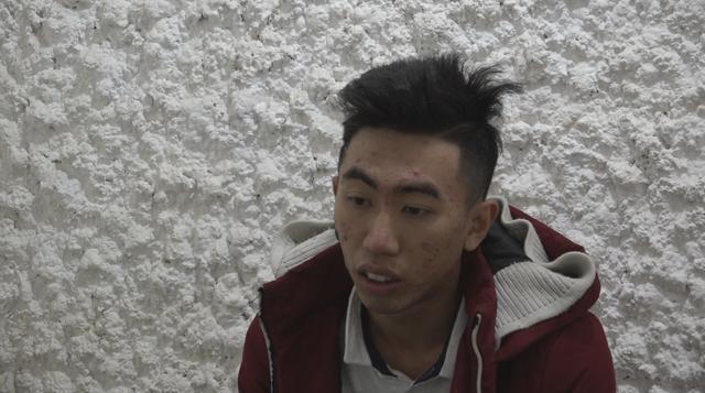 Đối tượng Nguyễn Hoài Nguyên tại cơ quan điều tra