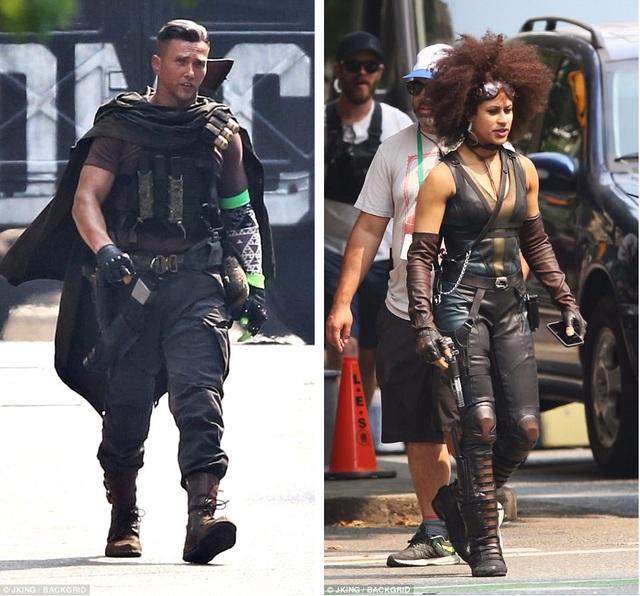 Loạt phim siêu anh hùng 18+ của Marvel phụ thuộc rất nhiều vào các diễn viên đóng thế. Trong ảnh là các diễn viên đóng thế của loạt phim thay cho Josh Brolin (trái) và Zazie Beetz (phải).