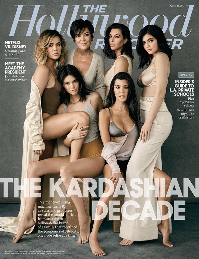 """Nhà Kardashian """"chiếm sóng"""" showbiz: Nổi tiếng không nhất thiết phải có tài năng - 1"""