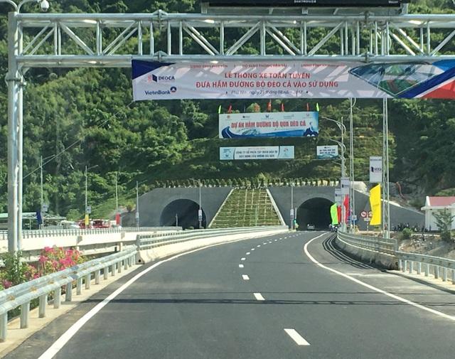 Chính thức thông xe hầm đường bộ hiện đại nhất Việt Nam - 3