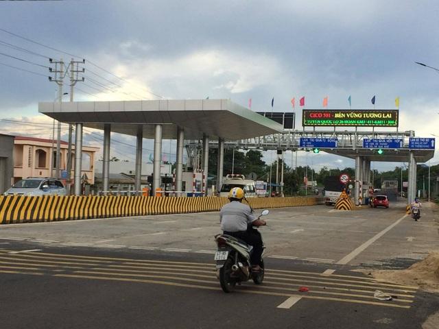 Trạm thu phí BOT Ea Đar trên QL 26 đoạn qua huyện Ea Kar, tỉnh Đắk Lắk