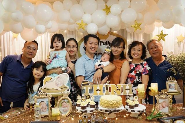 Gia đình hạnh phúc của cô Thanh Hà