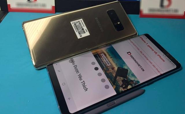 2 chiếc Galaxy Note8 sắp cập bến VN