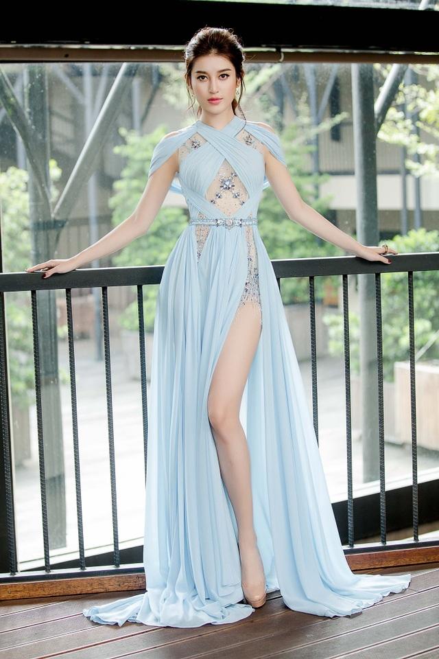 Á hậu Huyền My là đại diện của Việt Nam tham dự đấu trường sắc đẹp danh giá hàng đầu thế giới