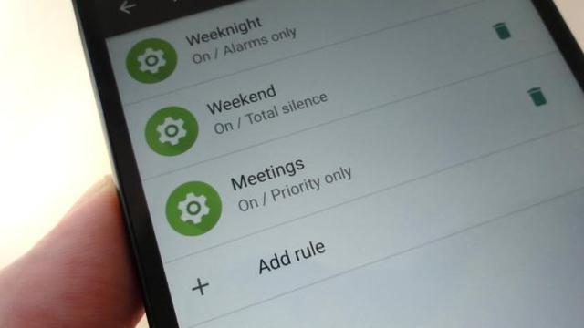 Android mang đến nhiều tùy chỉnh với tính năng Không làm phiền hơn.