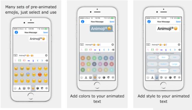 Ứng dụng Animoji do Emonster sở hữu đã có trên cửa hàng iOS từ năm 2014.