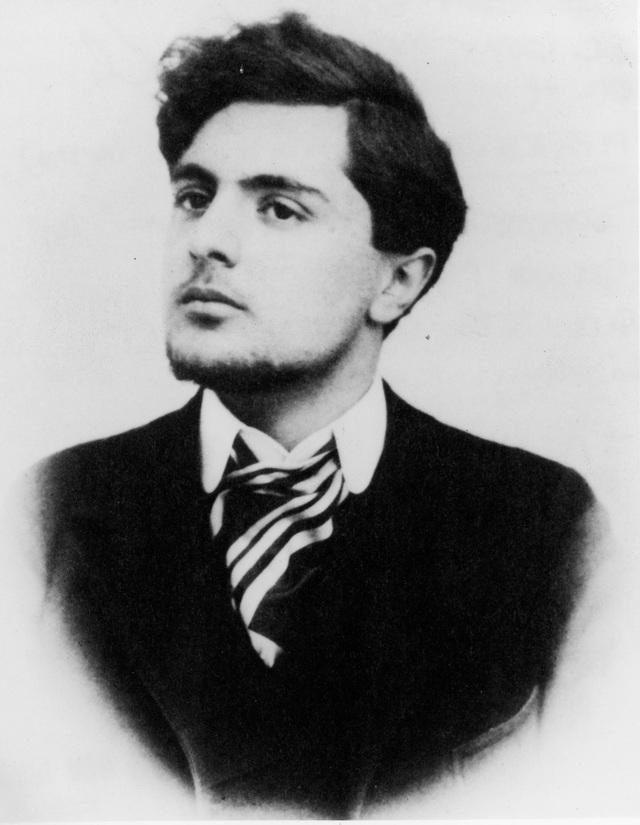 Danh họa người Ý Amedeo Modigliani lúc sinh thời.