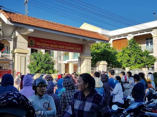Phụ huynh học sinh trường Mầm non Quảng Thái chưa đồng tình với nhiều khoản thu