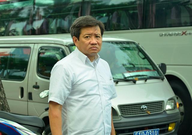 Ông Đoàn Ngọc Hải - Phó Chủ tịch UBND quận 1 trong một lần ra quân lập lại trật tự vỉa hè