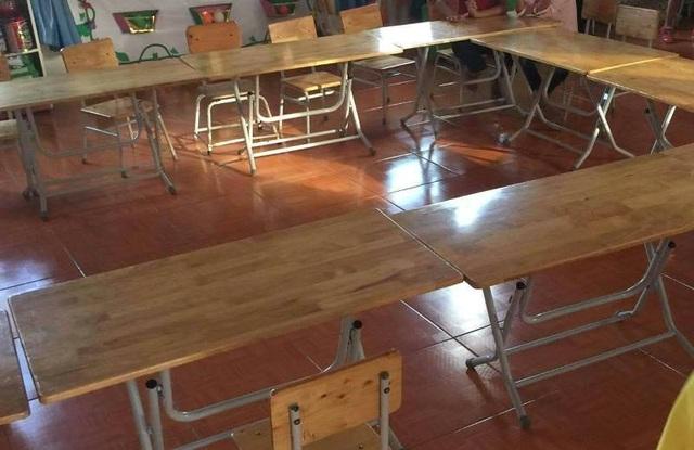 Chính quyền địa phương, ngành giáo dục Quảng Xương và nhà trường đã đề nghị phụ huynh đưa con tới trường