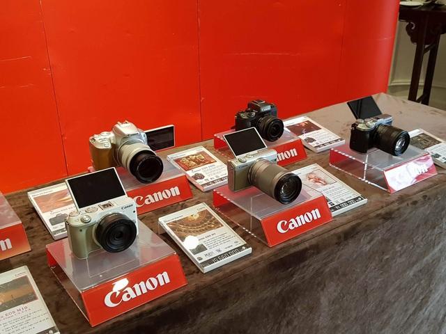 Loạt thiết bị máy ảnh mới của Canon sẽ được trưng bày tại triển lãm