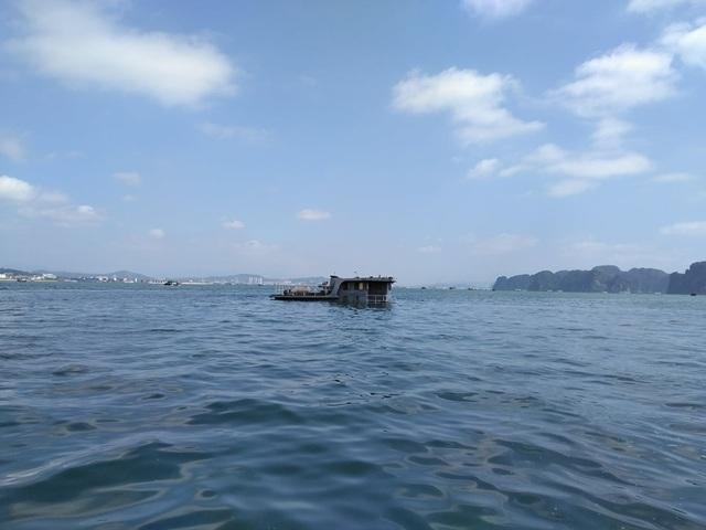 Tàu chở than bị chìm sau khi bị tàu khác văng vào (ảnh CTV)