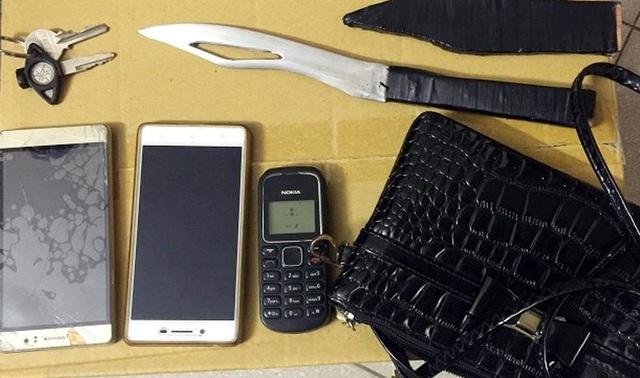 Bị bắt khi đang thực hiện hành vi cướp giật, 2 đối tượng khai thêm đã thực hiện hàng chục vụ cướp giật trước đó (nhr CTV)