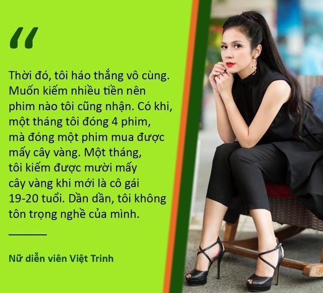 Xem thêm: Việt Trinh từng bế tắc tới mức viết thư tuyệt mệnh, có ý định quyên sinh Việt Trinh sa lầy khi bắt đầu nổi tiếng, tiền vàng kiếm dễ như trở bàn tay