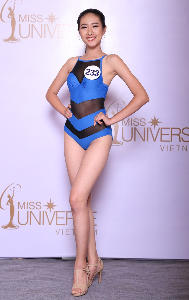 Là gương mặt mới, Lâm Quế Phi (SBD 233) đến từ Đồng Nai có nhiều tiềm năng và tố chất phù hợp với Hoa hậu Hoàn vũ Việt Nam. Quế Phi chia sẻ, mẹ là người ủng hộ cô tham gia cuộc thi, vì thế, cô đến với đấu trường sắc đẹp này không chỉ chiến đấu cho riêng mình mà quan trọng, cô muốn mẹ được tự hào.