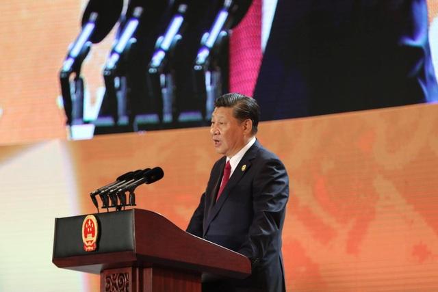 Chủ tịch Trung Quốc Tập Cận Bình (Ảnh: Lê Hoàng)