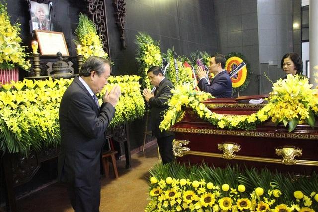 Ủy viên Bộ Chính trị - Phó Thủ tướng Thường trực Trương Hòa Bình...