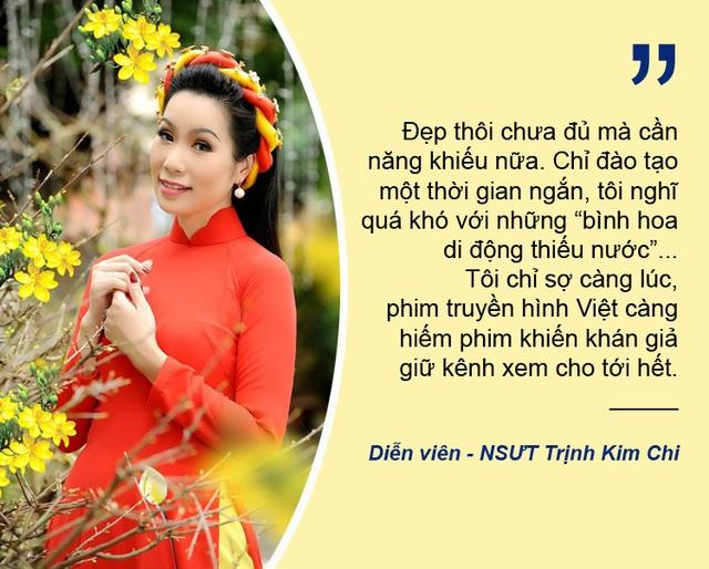 """Xem thêm: Điện ảnh Việt thụt lùi vì """"bình hoa di động"""" vẫn còn nhan nhản?"""