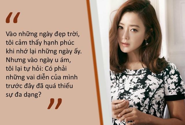 """Kim Hee-sun: """"Tôi không níu kéo tuổi thanh xuân"""" - 2"""
