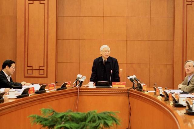 Tổng Bí thư Nguyễn Phú Trọng chỉ đạo tập trung, khẩn trương kết thúc điều tra đưa các vụ án như vụ Trịnh Xuân Thanh.