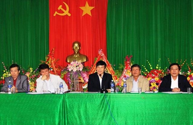 Chủ tịch UBND tỉnh Thanh Hóa chủ trì buổi đối thoại với người dân xã Hải Hà
