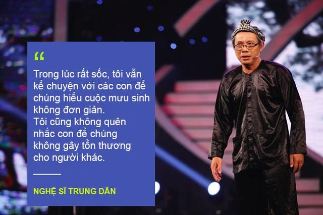 Xem thêm: Nghệ sĩ Trung Dân bức xúc vì bị Hương Giang Idol xúc phạm