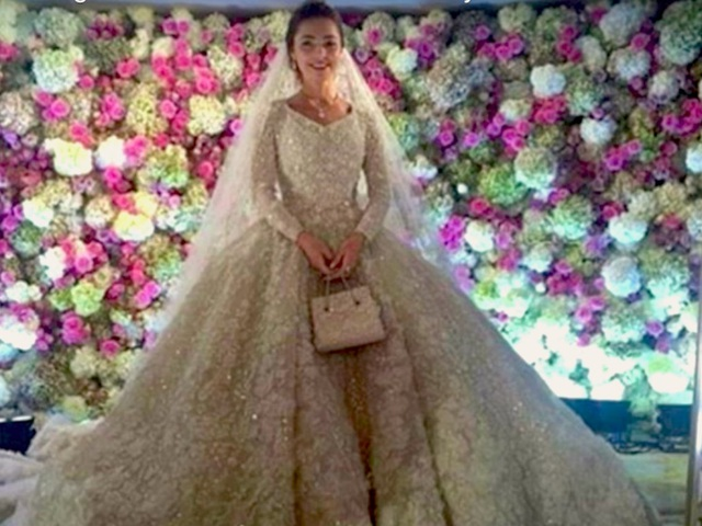 Lễ cưới của Angelababy và Huỳnh Hiểu Minh lọt top 8 hôn lễ siêu sang - 1