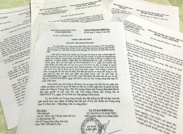 Văn bản của nhiều Bộ ngành Trung ương chỉ nhiều uẩn khúc trong vụ thi hành án kiểu kì lạ.