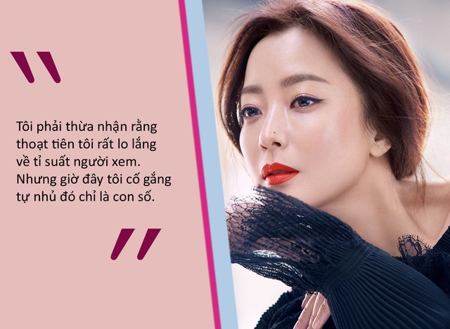 """Kim Hee-sun: """"Tôi không níu kéo tuổi thanh xuân"""" - 3"""