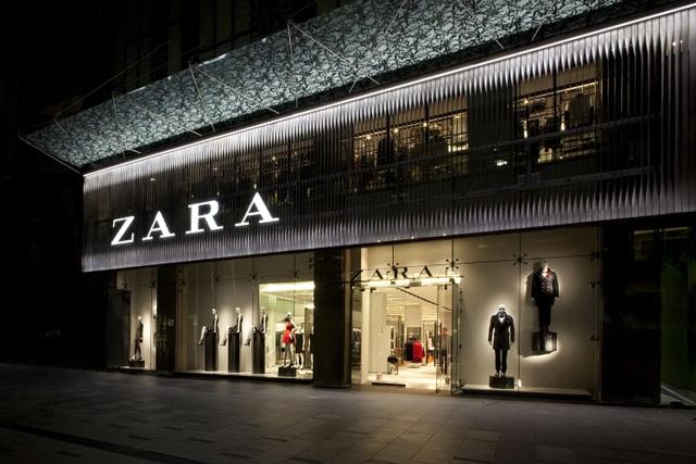 Zara đến từ Zorba, tên gọi ban đầu của thương hiệu thời trang