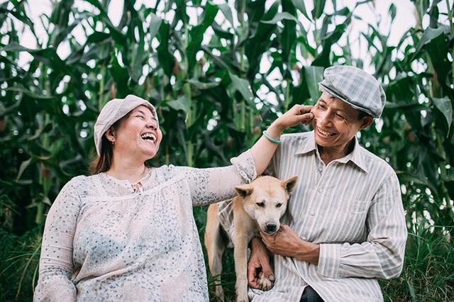 Câu chuyện xúc động sau bộ ảnh vợ chồng nông dân 25 năm hạnh phúc - 4