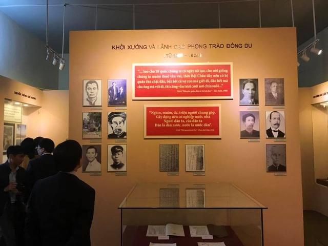 Những hình ảnh về cụ Phan Bội Châu quý hiếm được lưu giữ tại Khu di tích Quốc gia của cụ.