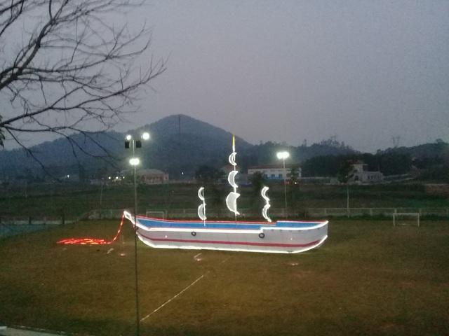 Trang hoàng đón Giáng sinh tại Giáo xứ Nghĩa Thành, huyện Nghĩa Đàn.