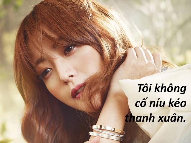 """Kim Hee-sun: """"Tôi không níu kéo tuổi thanh xuân"""" - 4"""