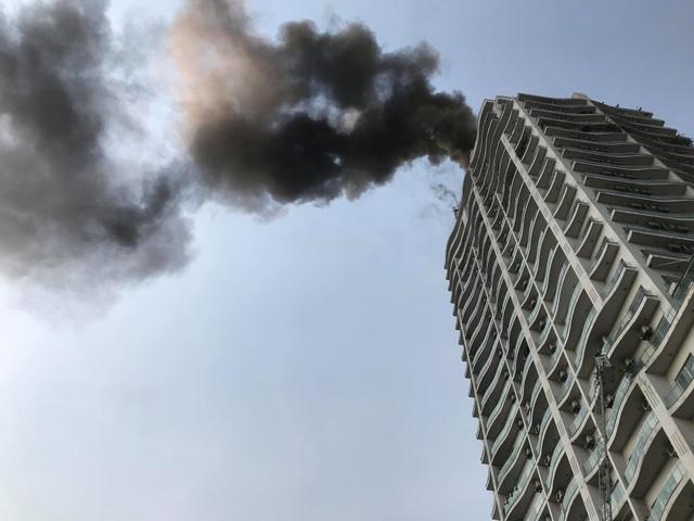 Hà Nội: Cháy lớn tại chung cư trên đường Hoàng Hoa Thám - 3