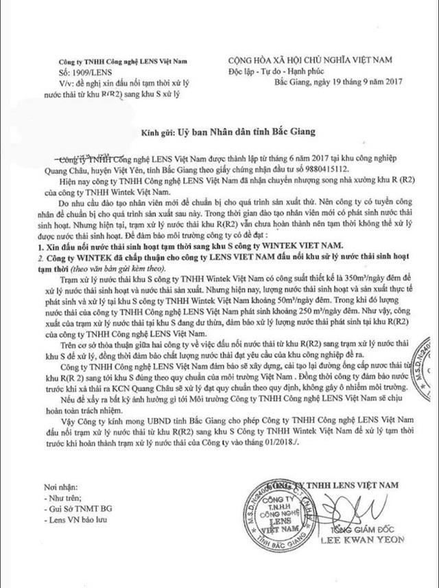 """Thêm một doanh nghiệp nước ngoài coi môi trường là """"trò đùa"""" tại Bắc Giang! - 1"""