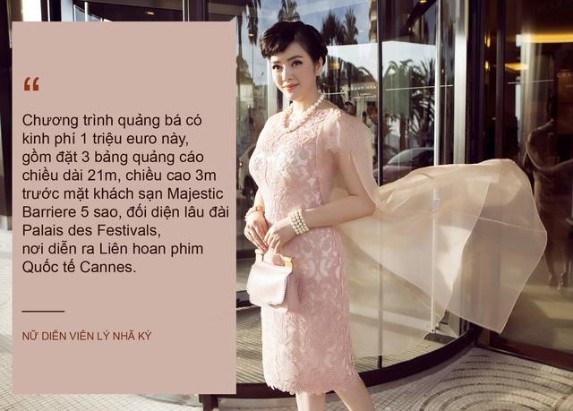Xem thêm: Lý Nhã Kỳ chi 1 triệu euro để đưa hình ảnh Việt Nam đến Cannes 2017