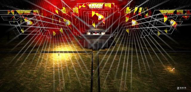 """Sân khấu """"Armin van Buuren by Vinaphone"""" không kém cạnh """"A State of Trance"""" - 2"""