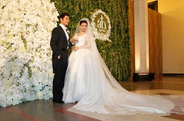 Lễ cưới của Angelababy và Huỳnh Hiểu Minh lọt top 8 hôn lễ siêu sang - 5