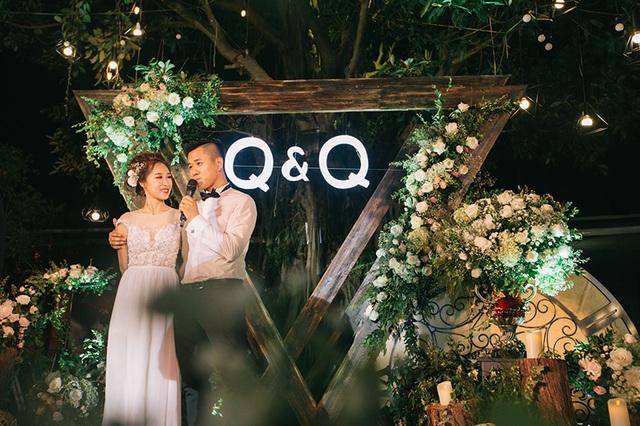 Đám cưới trong mơ của cặp đôi Hồng Quân - Thu Quý được hai bạn giành nửa năm để chuẩn bị.
