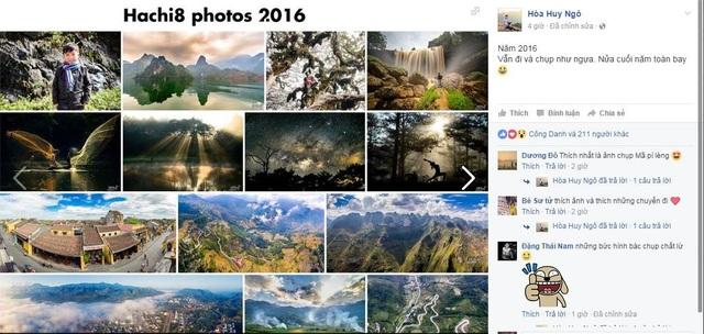 Nhìn lại những hình ảnh đáng nhớ của năm 2016