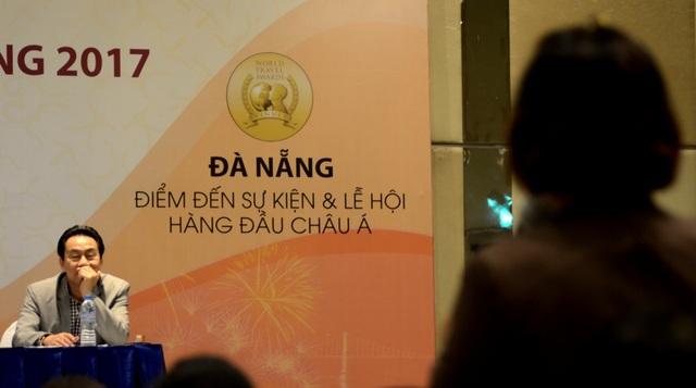 """Năm 2016, Đà Nẵng ghi dấu trong lòng du khách khi được bình chọn là """"Điểm đến sự kiện và Lễ hội hàng đầu Châu Á""""."""