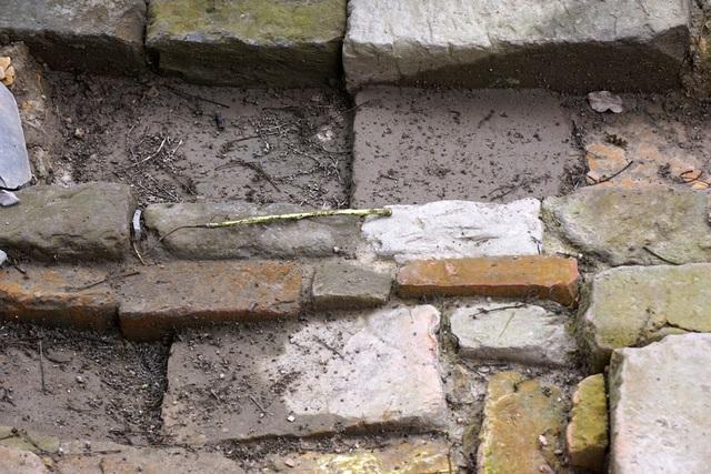 Dấu tích cống nước thời Lê Sơ, thế kỷ 15 - 16.