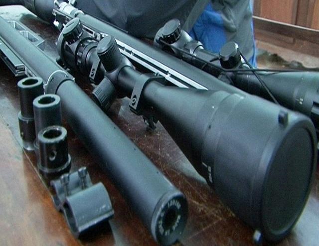 Cận cảnh những khẩu súng hơi được lắp ráp
