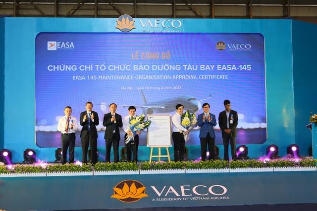 Kỹ thuật máy bay Việt Nam được nhận chứng chỉ bảo dưỡng của châu Âu - 1