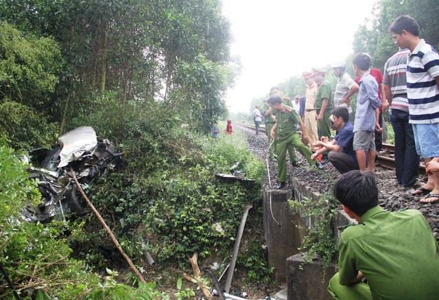 Hiện trường vụ tai nạn khiến ít nhất 4 người chết